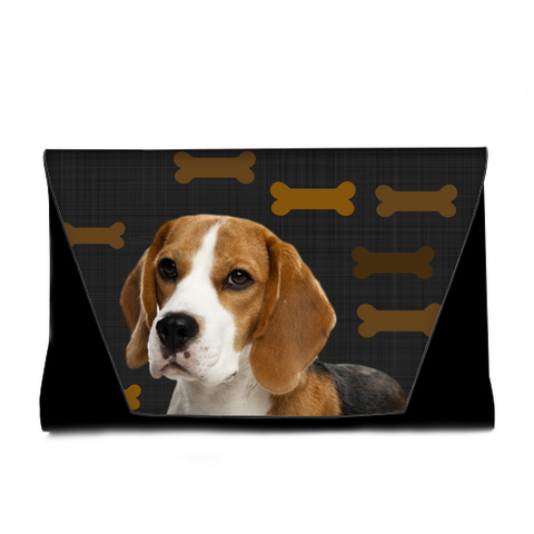 Beagle Clutch Bag