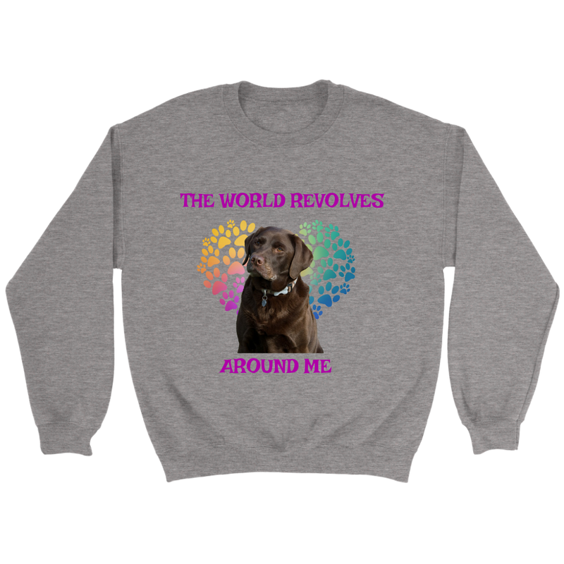 Chocolate Labrador World Shirt/Sweatshirt