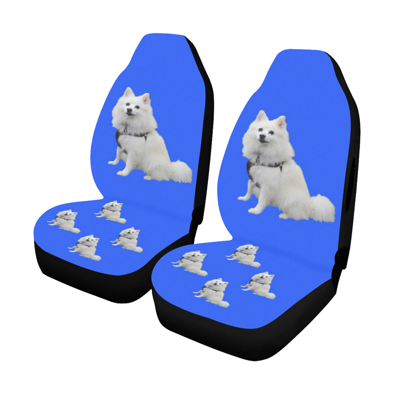 American Eskimo Car Seat Covers (Set of 2) - Airbag Compatible