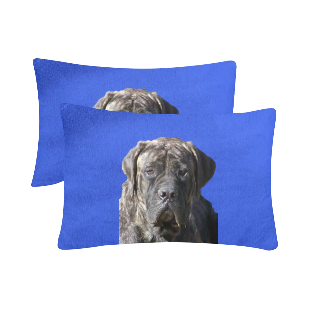 English Mastiff Pillow Cases - Set of 2 - Brindle