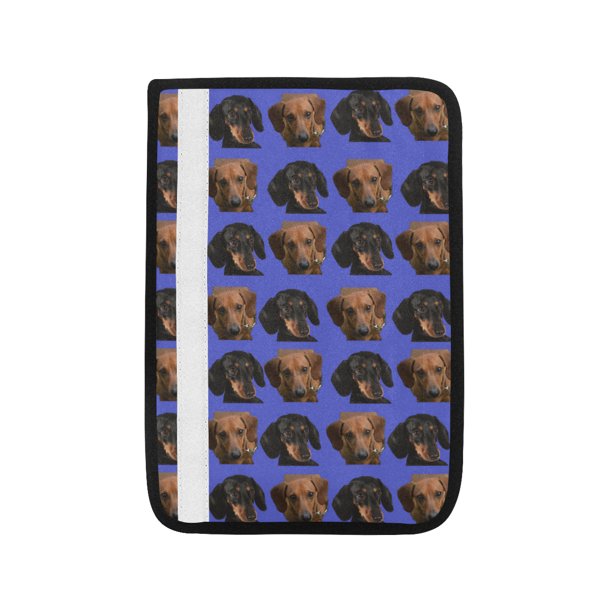 Dachshund Car Seat Belt Cover - Multi