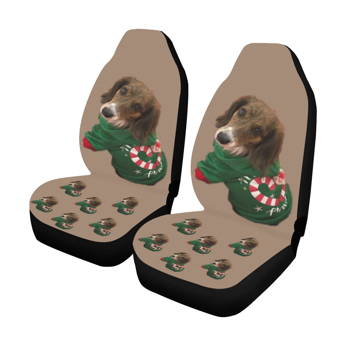 Long Haired Dachshund Car Seat Covers - Lori