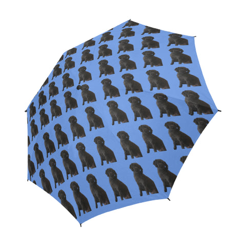 Moodle/Maltipoo Umbrella - Semi Automatic