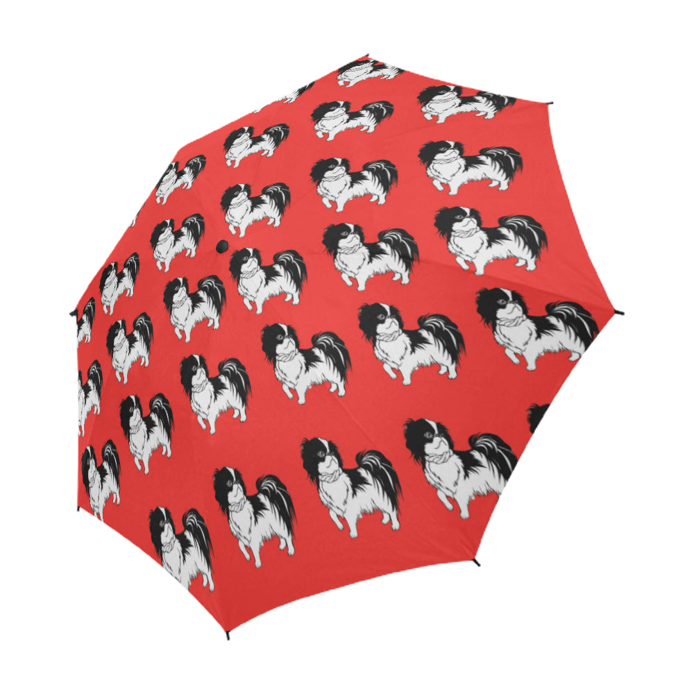 Japanese Chin Umbrella - Red