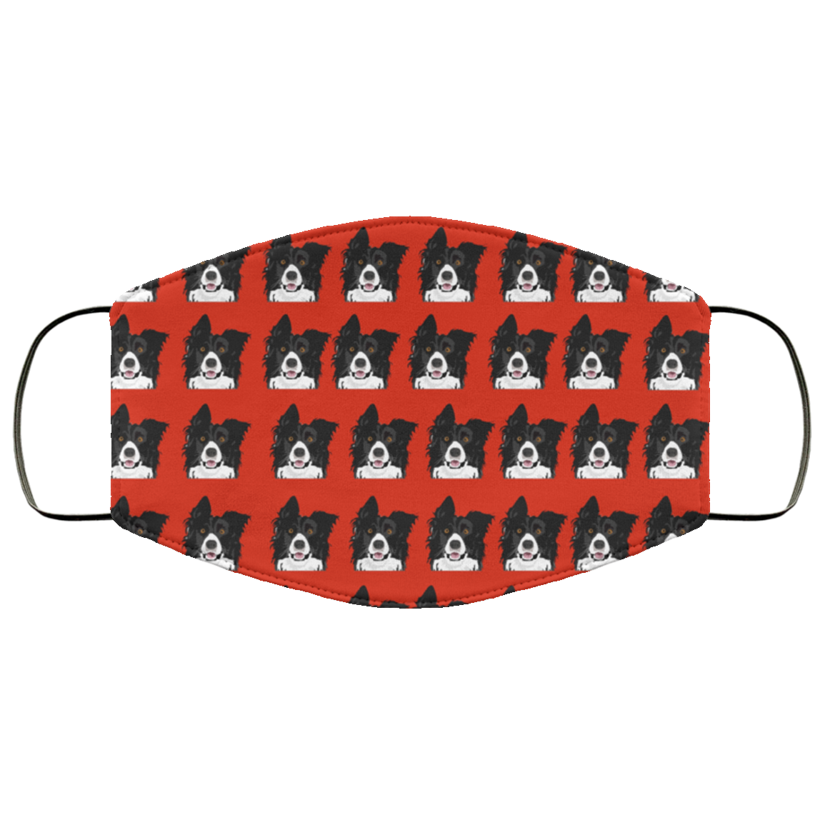 Border Collie Face Cover