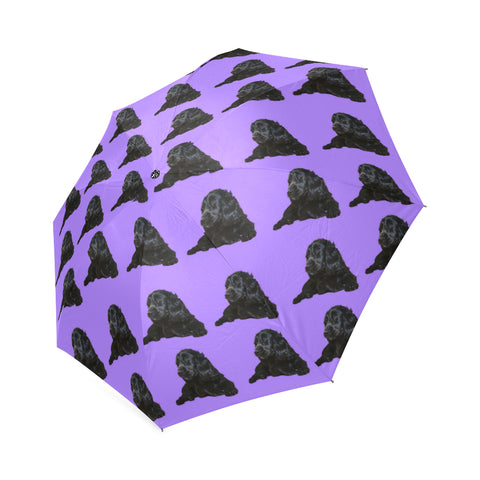 Cocker Spaniel Umbrella- American Black
