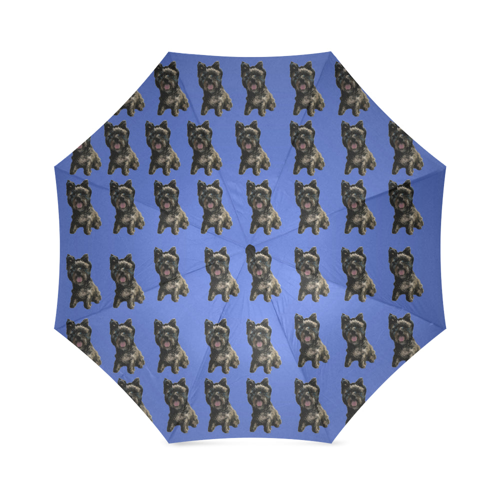 Cairn Terrier Umbrella - Black