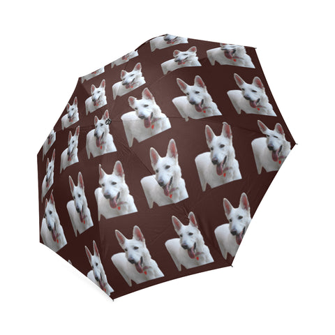 German Shepherd White Umbrella