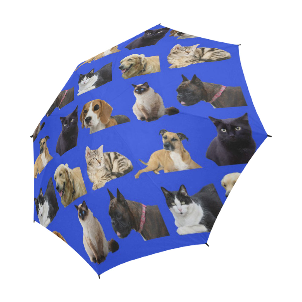 It's Raining Cats & Dogs Umbrella - Auto Open
