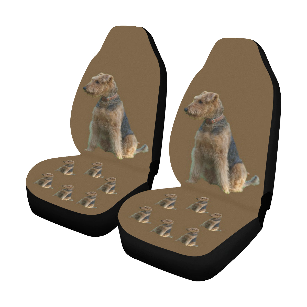 Airedale Terrier Car Seat Covers (Set of 2)