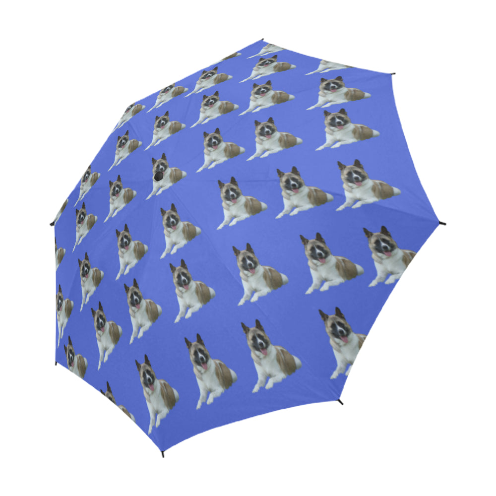Akita Umbrella - Blue Auto Open