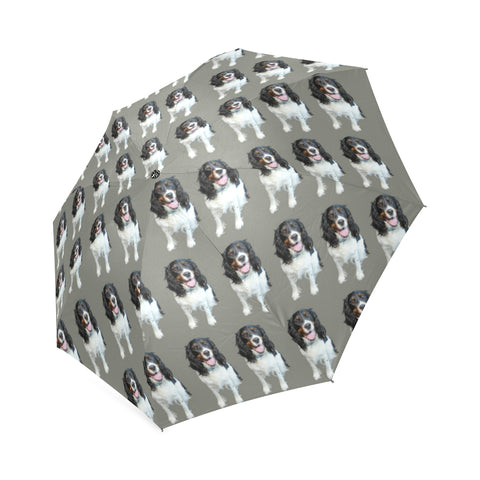 English Springer Spaniel Umbrella - Grey