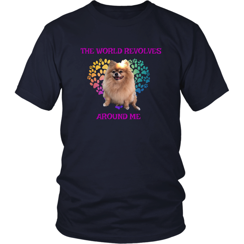 Pomeranian World T-Shirt