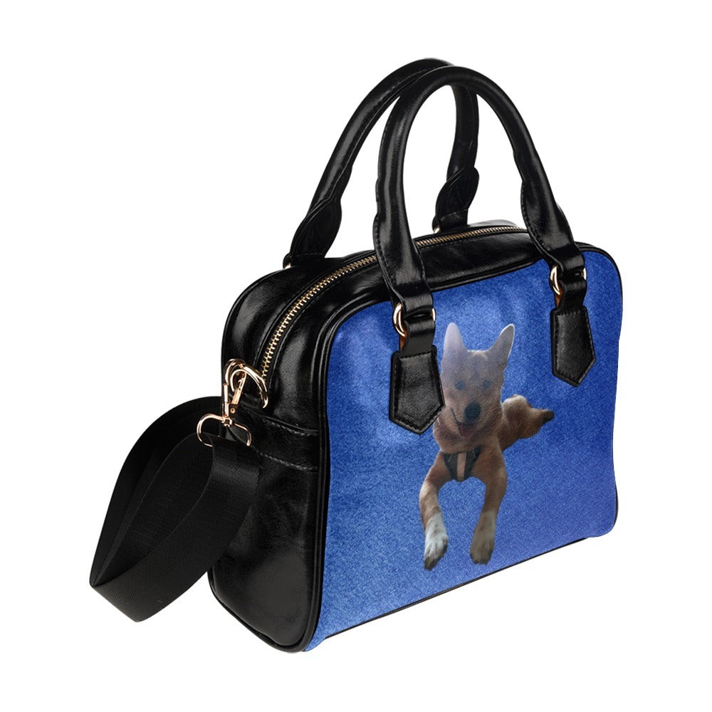 Shiba Inu Shoulder Bag - Kimberly