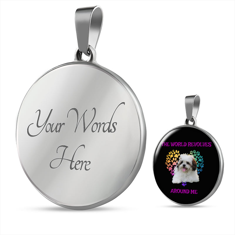 Lhasa Apso World Necklace
