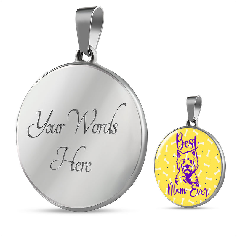 Best Westie Mom Necklace