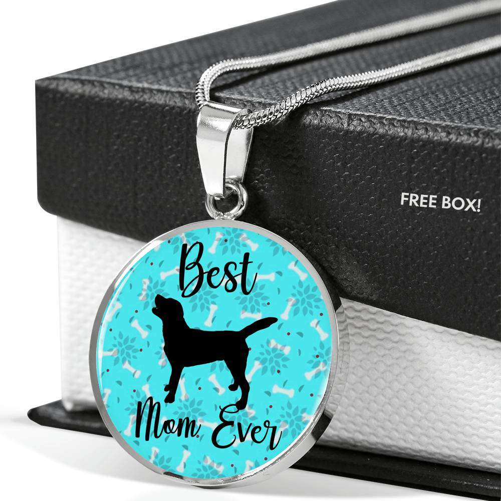 Best Lab Mom Necklace