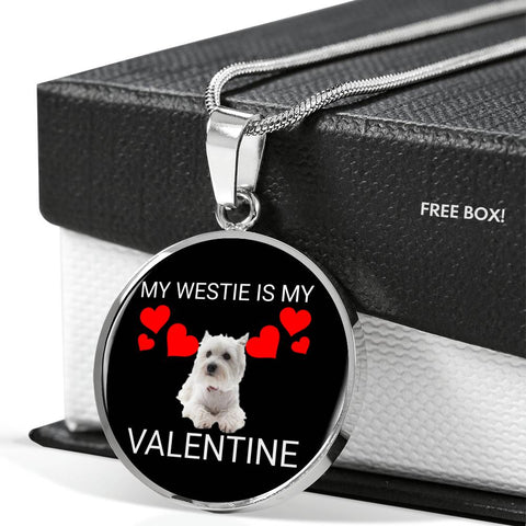 My Westie Is My Valentine Necklace