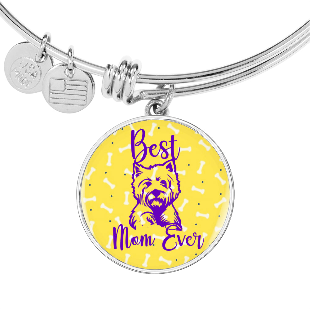 Best Westie Mom Bangle