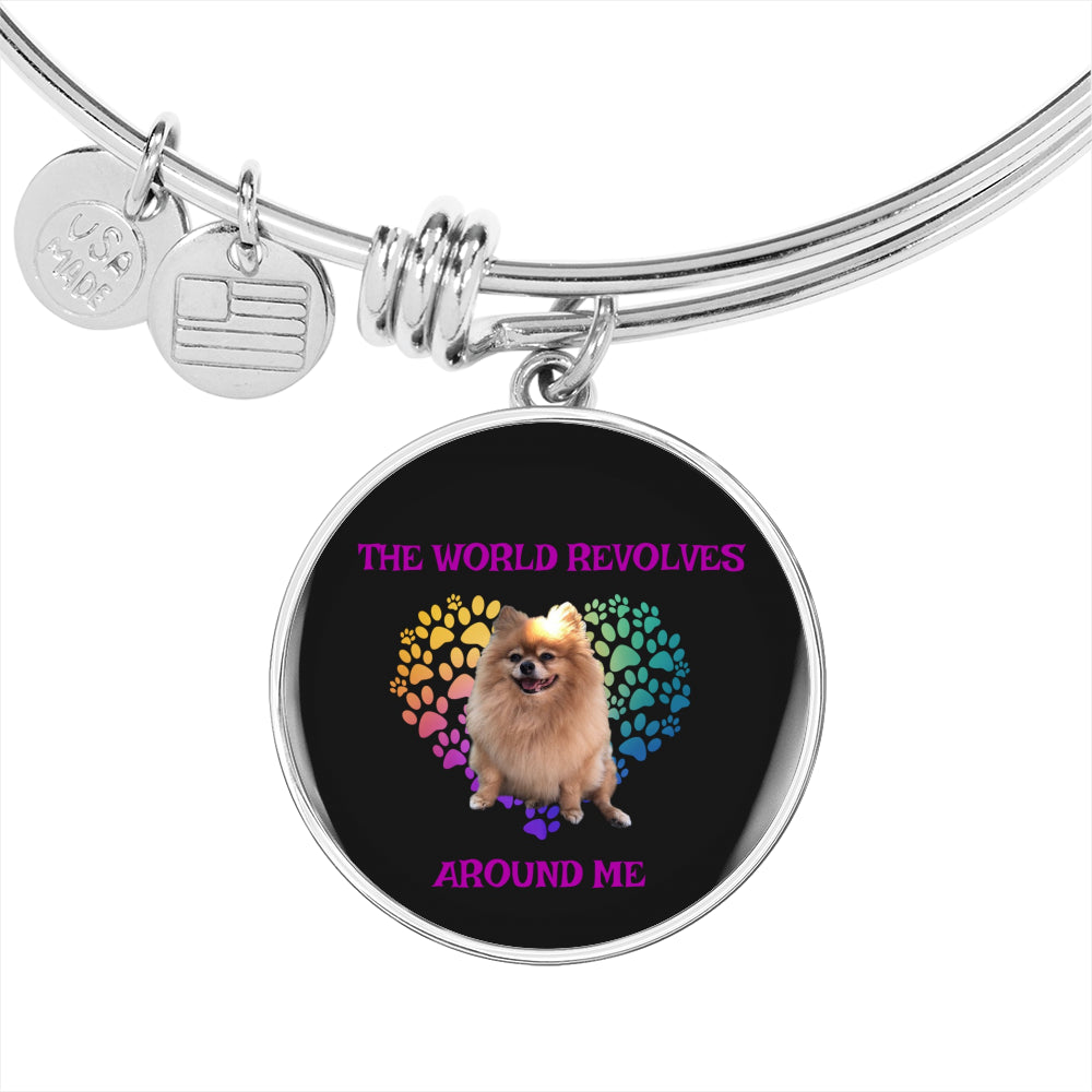 Pomeranian World Bracelet