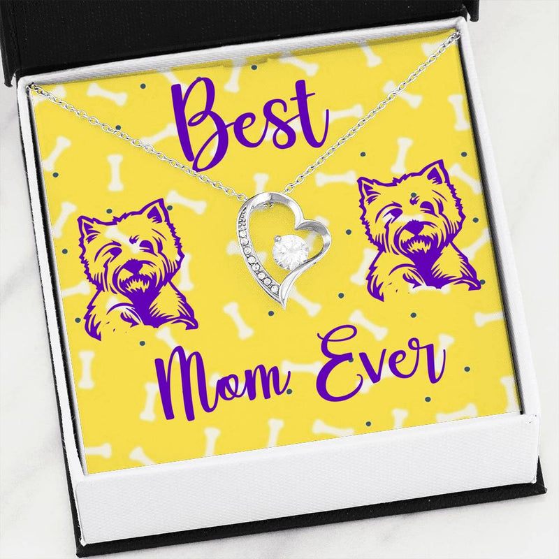 Heart Necklace - Best Westie Mom