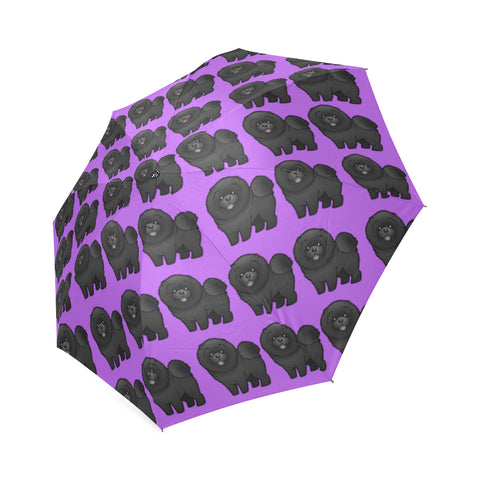 Chow Chow Black Umbrella
