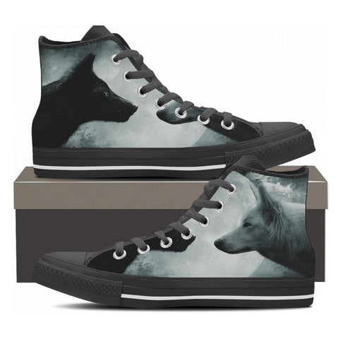High Top Wolf Shoes
