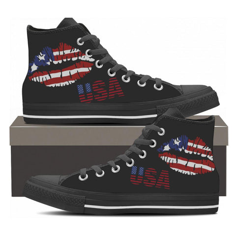 USA High Top Shoes