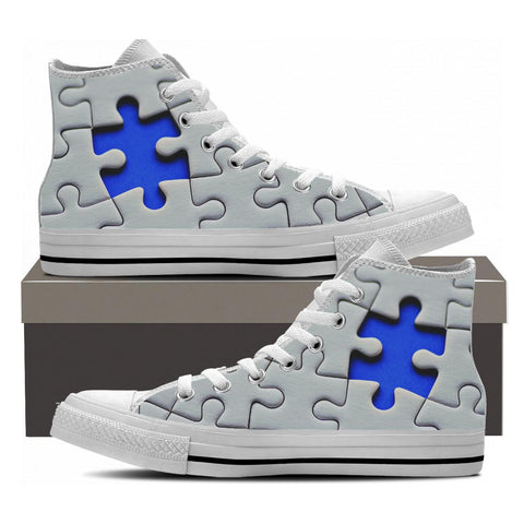 AUTISM HIGHTOP SHOES