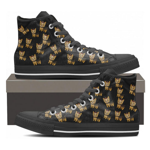 YORKIE HIGHTOP SHOES