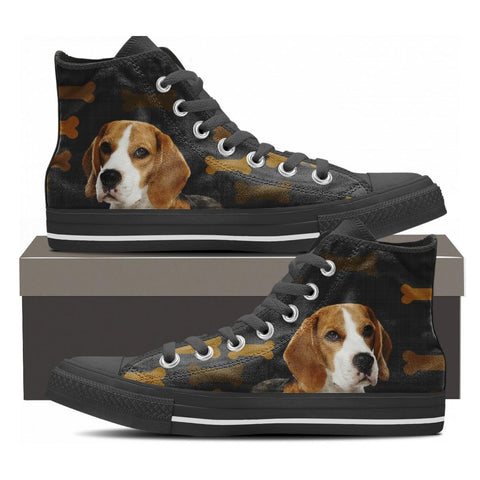 Beagle Canvas Shoes