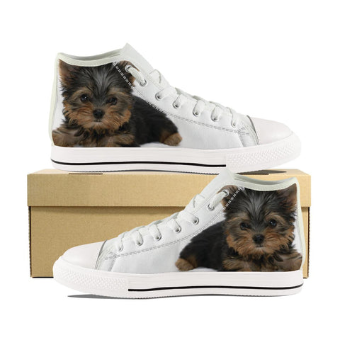 YORKSHIRE TERRIER CANVAS SHOES