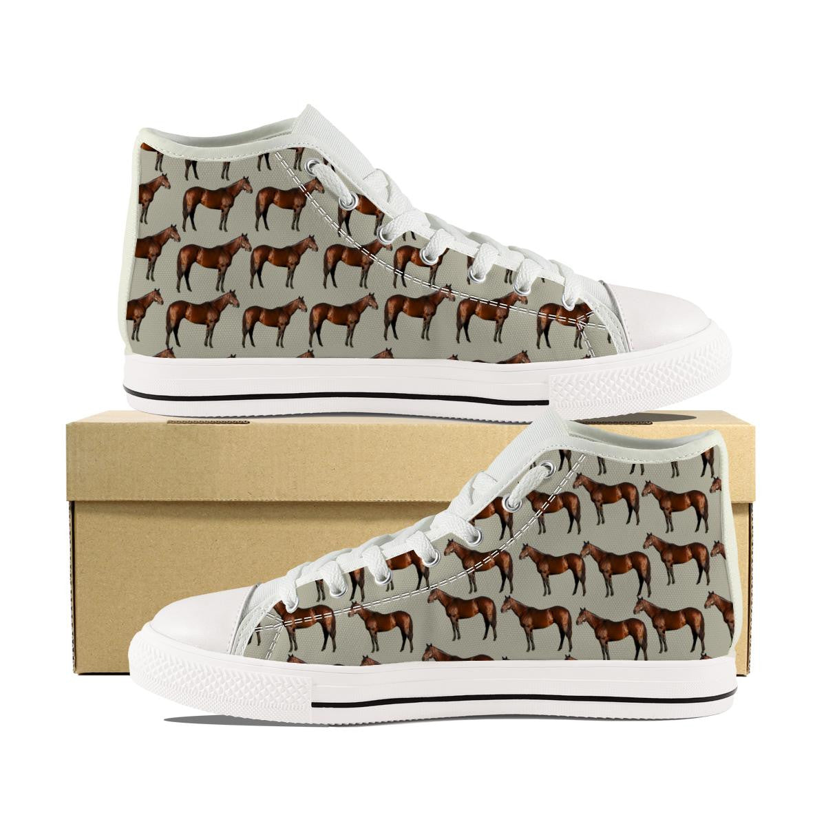 HORSE CANVAS SHOES