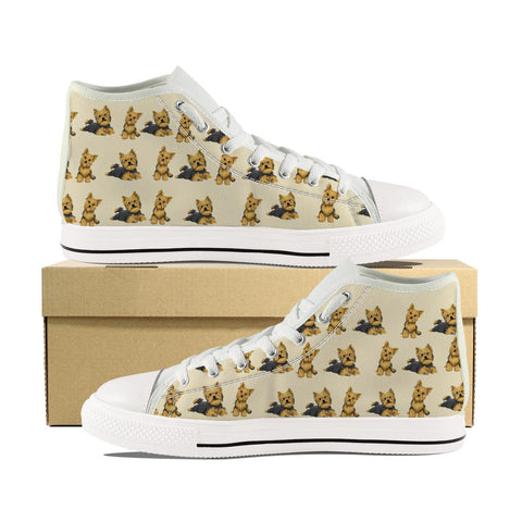 YORKIE KIDS CANVAS SHOES
