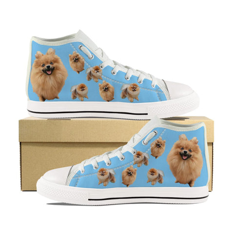 POMERANIAN CANVAS SHOES