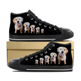 GOLDEN RETRIEVER CANVAS SHOES