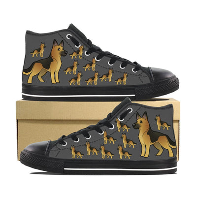 GERMAN SHEPHERD CANVAS SHOES