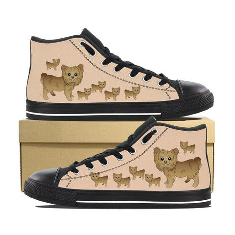 Yorkie 2 Kids Canvas Shoes Cathy Anns Deals
