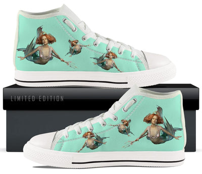 Mermaid Canvas Shoes
