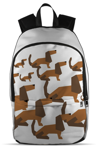 Cartoon Dachshund Backpack