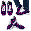 Dog Paw Sneakers - Pink & Purple