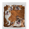 Bulldog Duvet Set