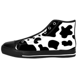 COW HIGHTOP SHOES