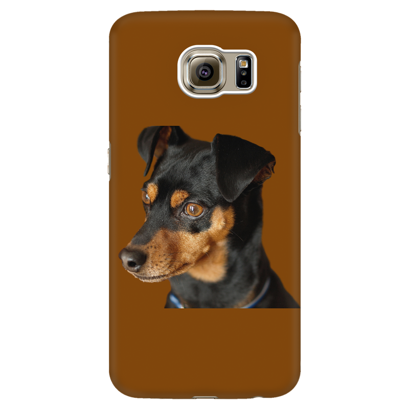 Pinscher Phone Case - Brown