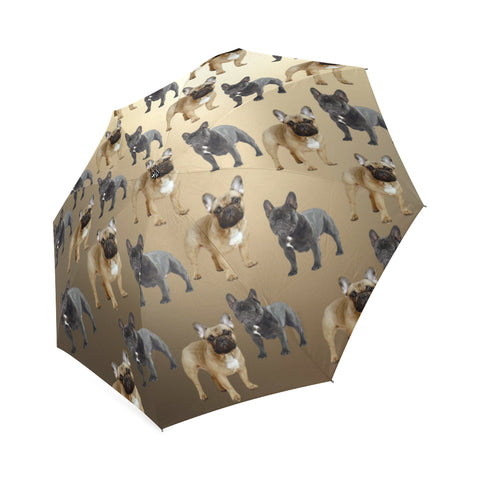 French Bulldog Umbrella - Tan