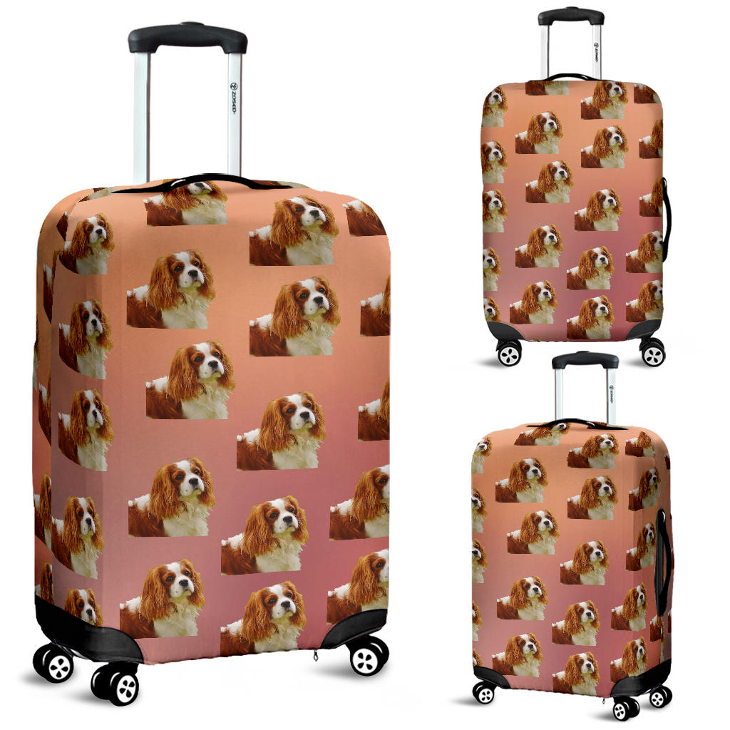 Cavalier King Charles Spaniel Luggage Cover