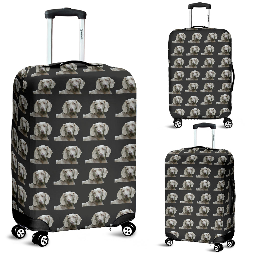 Weimaraner Luggage Cover