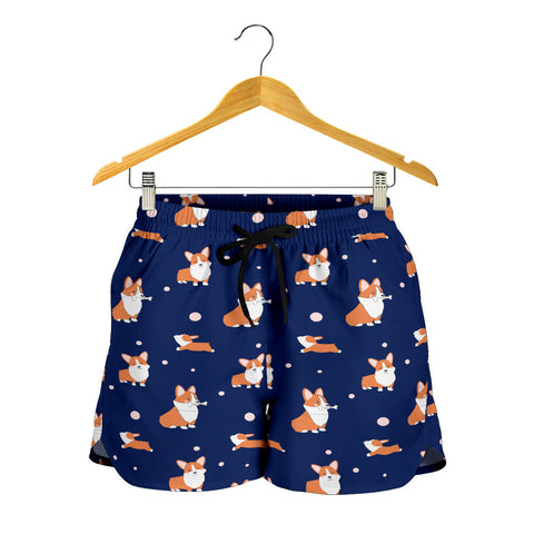 Corgi Cartoon Shorts