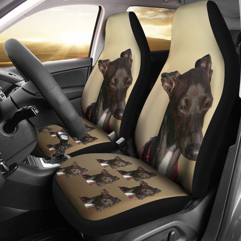 Greyhound Car Seat Cover (Set of 2)