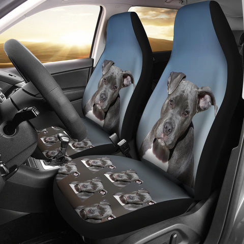 Staffordshire Bull Terrier Car Seat Cover (Set of 2)